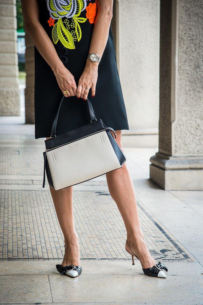 Платье Christopher Kein с туфлями Dior