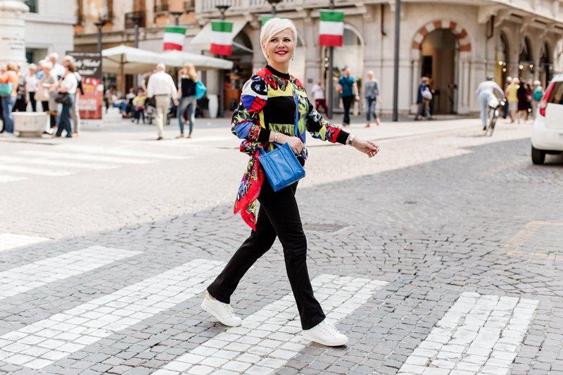 Показ мод в Италии